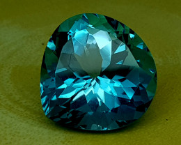 25Crt Blue Topaz Natural Gemstones JI30