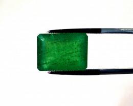 10.05 ct Zambian Emerald