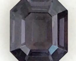 Velvet Blue  Octagonal  Cut Spinel - Burma G478 H683