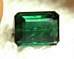 1$NR - 5.50 Ct. Blue Green Nigerian Fancy Tourmaline - Gorgeous