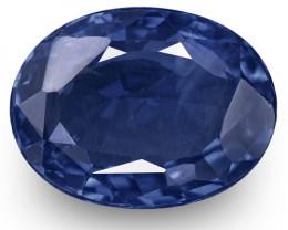 IGI & GII Certified Sri Lanka Blue Sapphire, 3.00 Carats, Royal Blue Oval