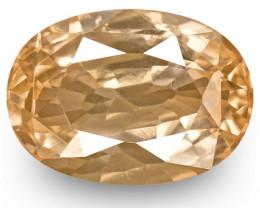 GRS Certified Sri Lanka Padparadscha Sapphire, 2.36 Carats, Oval