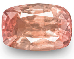 GRS Certified Madagascar Padparadscha Sapphire, 2.75 Carats, Cushion