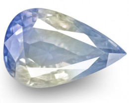 GIA & IGI Certified Kashmir Blue Sapphire, 4.73 Carats, Velvety Pastel Blue