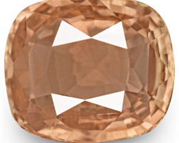 GRS Certified Madagascar Padparadscha Sapphire, 1.56 Carats, Pinkish Orange