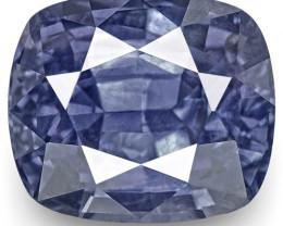 IGI Certified Sri Lanka Blue Sapphire, 2.86 Carats, Cushion