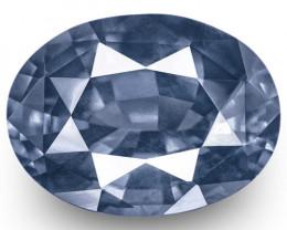 GIA Certified Sri Lanka Blue Sapphire, 5.18 Carats, Medium Blue Oval