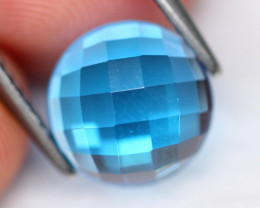 Swiss Topaz 3.38Ct Natural Swiss Blue Topaz D1711