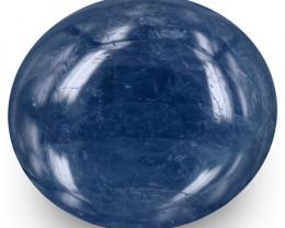 Burma Blue Sapphire, 17.12 Carats, Blue Oval