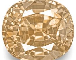 GRS Certified Sri Lanka Padparadscha Sapphire, 0.99 Carats, Oval