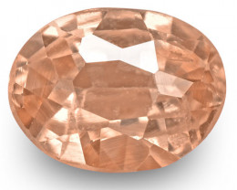 GRS Certified Sri Lanka Padparadscha Sapphire, 0.32 Carats, Orangish Pink