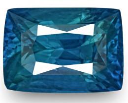 GRS Certified Madagascar Blue Sapphire, 4.94 Carats, Cornflower Blue