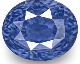 GRS & GII Certified Sri Lanka Blue Sapphire, 5.56 Carats, Oval