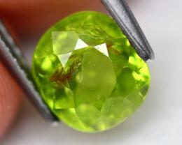 Grossular 2.37Ct Natural Green Grossular Garnet D1806