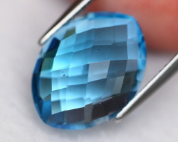 Swiss Topaz 7.58Ct Natural Swiss Blue Topaz D1808