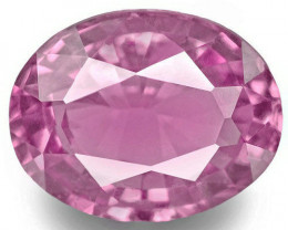 Madagascar Pink Sapphire, 0.94 Carats, Pink Oval