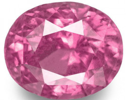 Madagascar Pink Sapphire, 1.84 Carats, Pink Oval