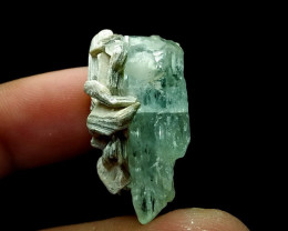 53.15 Cts Unheated ~ Natural Blue Aquamarine  Specimen