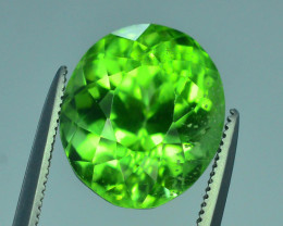 AAA Color 8.55 ct Peridot ~ Pakistan SSSS