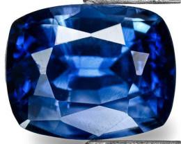 Madagascar Blue Sapphire, 0.95 Carats, Blue Cushion
