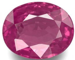 Madagascar Pink Sapphire, 0.76 Carats, Pink Oval