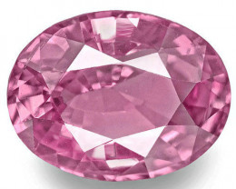 Madagascar Pink Sapphire, 1.33 Carats, Pink Oval
