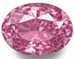 Madagascar Pink Sapphire, 1.64 Carats, Pink Oval