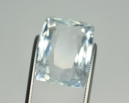 13.30 Cts Natural No Heated Aquamarine