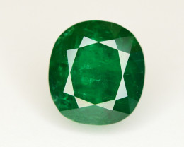 Top Color 2.70 Ct Natural Emerald From Swat