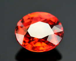 Reddish Orange Color 1.90 Ct Natural Spessartite Garnet. RA