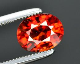 Reddish Orange Color 1.70 Ct Natural Spessartite Garnet. RA