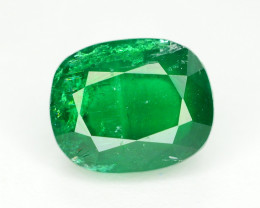 Top Color 1.10 Ct Natural Emerald From Swat