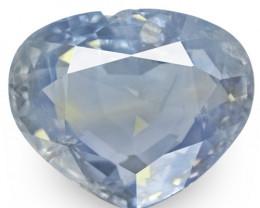 GIA & GRS Certified Kashmir Blue Sapphire, 3.32 Carats, Pastel Blue Pear
