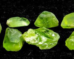 52.20 CT Natural & Unheated Green Peridot Rough Lot
