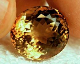 38.46 Ct. Golden Brown Brazil VVS1 Topaz - Superb
