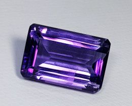 12.57ct Top Quality Gem Superb Octagon Cut Natural Purple Amethyst