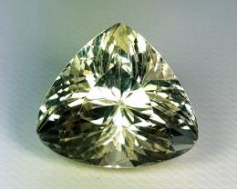 12.66 ct Top Grade Gem Stunning Triangle Cut Natural Spodumene