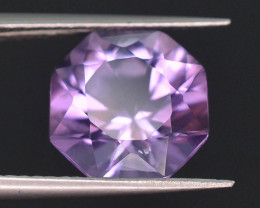 Top Color 4.00 ct AAA Cut Untreated Amethyst