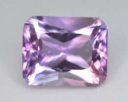Top Color 13.50 ct AAA Cut Untreated Amethyst