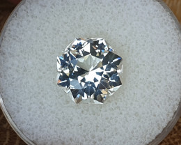 7.90 ct White Topaz - Master cut!