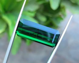 15.30 Ct Natural Greenish Transparent Big Size Tourmaline Gemstone