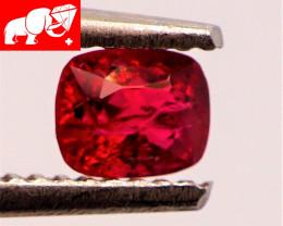 JEDI! GLOWING VIVID COLOR! Unheated 0.54 CT JEDI RED Spinel $1,300 (Burma)