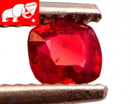 JEDI! GLOWING VIVID COLOR! Unheated 0.39 CT JEDI RED Spinel $1,100 (Burma)