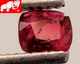 JEDI! GLOWING VIVID COLOR! Unheated 0.50 CT JEDI RED Spinel $1,100 (Burma)