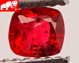 JEDI! GLOWING VIVID COLOR! Unheated 0.38 CT JEDI RED Spinel $1,000 (Burma)