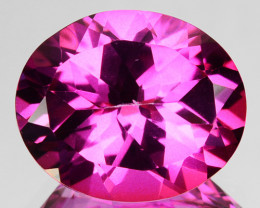 5.92 Cts Candy Pink Natural Topaz Oval Cut Brazil