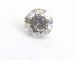 0.44ct  Fancy  Gray Diamond , 100% Natural Untreated