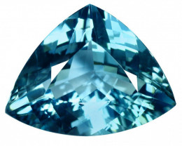 18.21 Ct. Natural Blue Beryl  Brazil  IGE - CERTIFIED