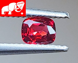 JEDI! DEEP RED! Unheated 0.52 CT Red  Spinel $750 (Mogok. Burma)