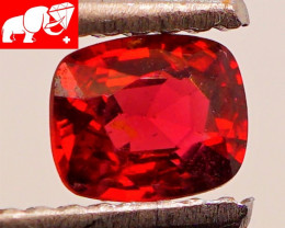 JEDI! DEEP RED! Unheated 0.52 CT Red  Spinel $750 (Mogok. Burma)